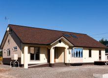 自然素材で仕上がった二世帯住宅